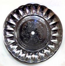 Kohleteller Tradi gelocht - Silber
