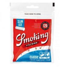 Smoking Slim Watte-Filter Blue
